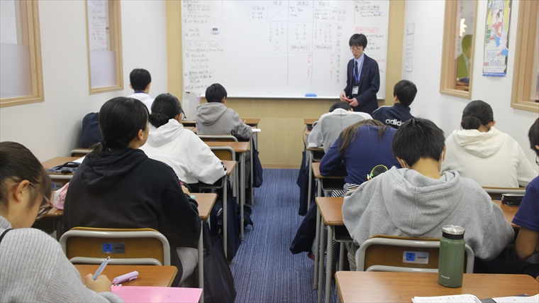 久保田学園西神南教室 補習の様子